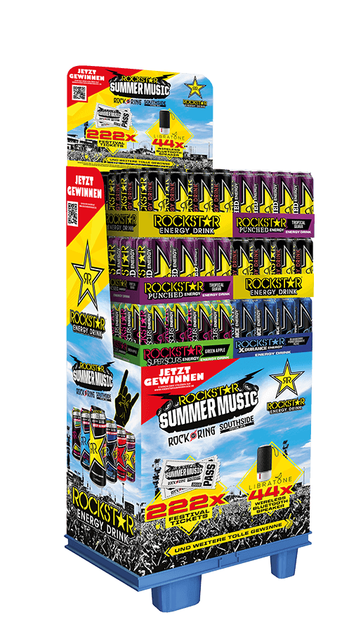 Rockstar Energy Drink Rock Am Ring Glasmeyer Branding Hamburg